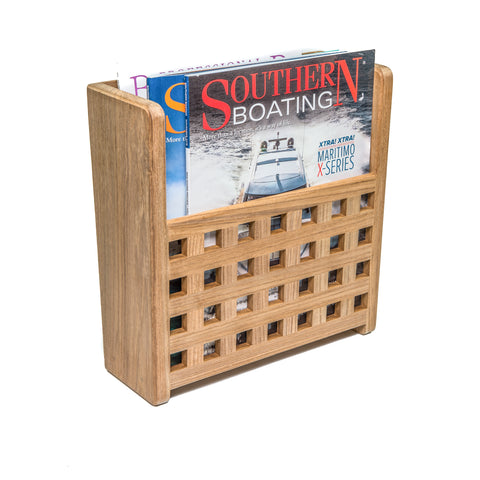 62502 - Grate Front Magazine Rack