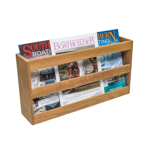 62508 - Double-Wide Magazine Rack