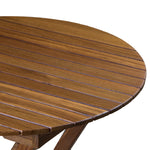 63057 - Round Slat Table