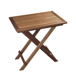 63058 - Folding Slat Table