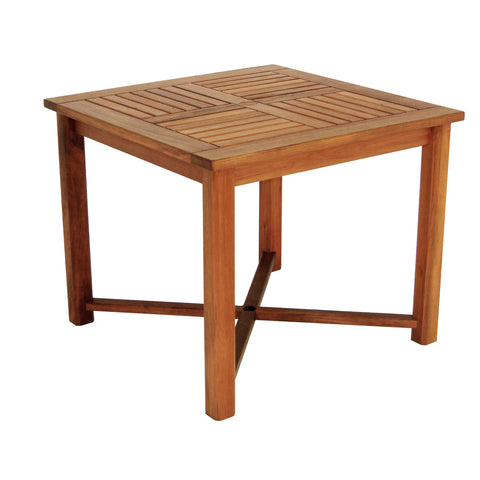 Whitecap Teak Square Dining Table