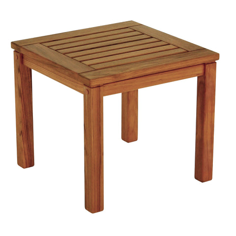 Whitecap Teak Square Side Table