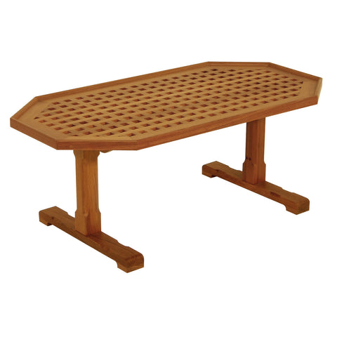 Whitecap Teak Coffee Grate Table