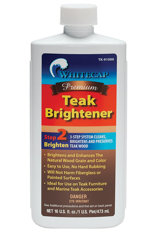 Whitecap Teak Brightener