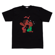 Load image into Gallery viewer, Reckin Crew Black Love Tee