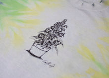 Load image into Gallery viewer, Reckin Crew Plant Stippling Tie Dye