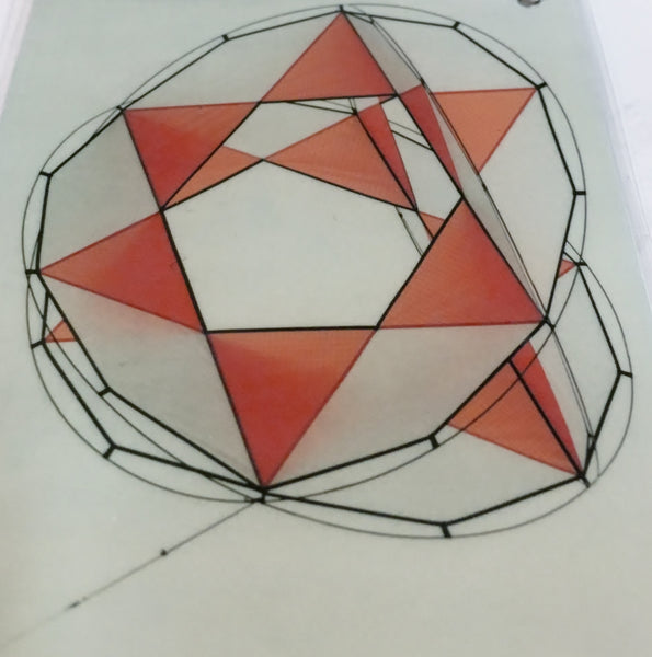 Mandala Cellular Kite by Fridolin Anders of Germany