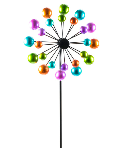 Colorful Ball Windmill Kinetic Garden Stake