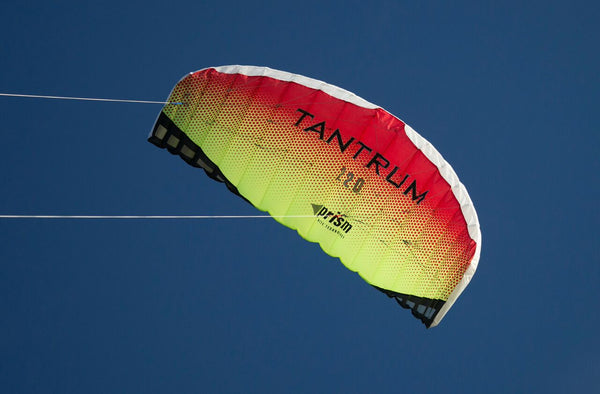 Prism Tantrum Dual Line Trainer Power Kite with Control Bar & Spectra Line