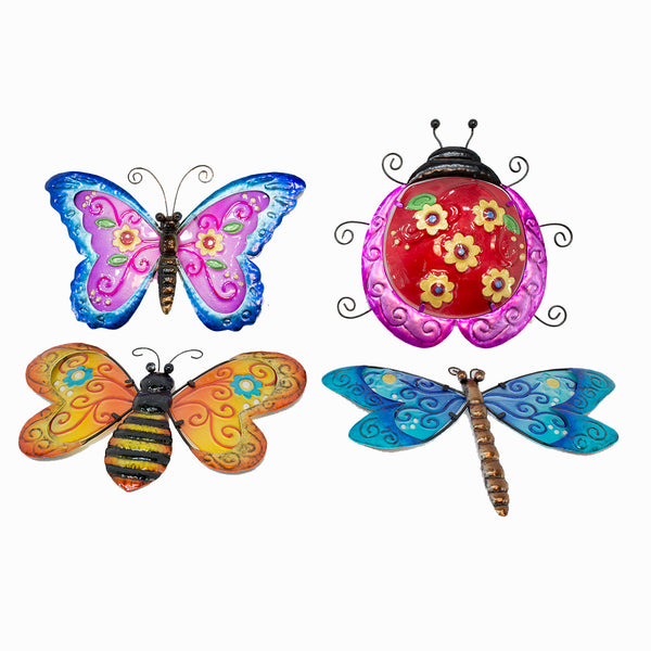 3D Hanging Garden Bugs Wall Decor