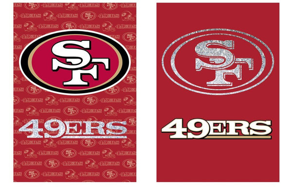 NFL San Francisco 49ers Double Sided Garden Flag