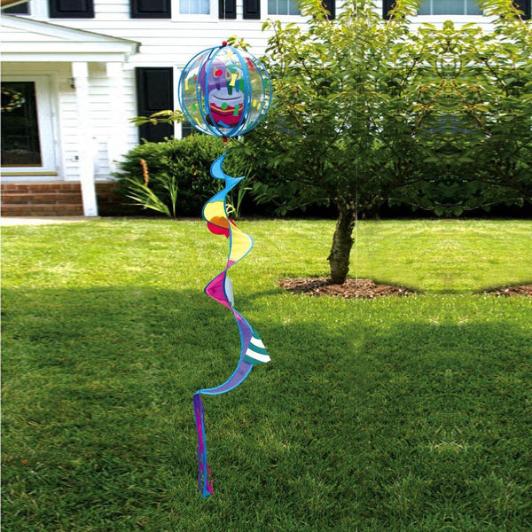 "Birthday Cake Hanging ""Windsy"" Spiral Spinner"