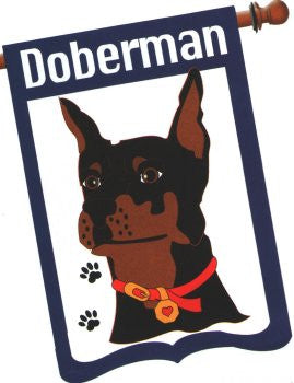Doberman Flag