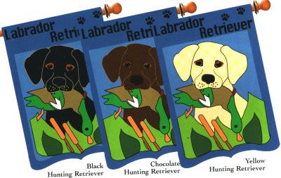 Hunting Lab Retriever Flag