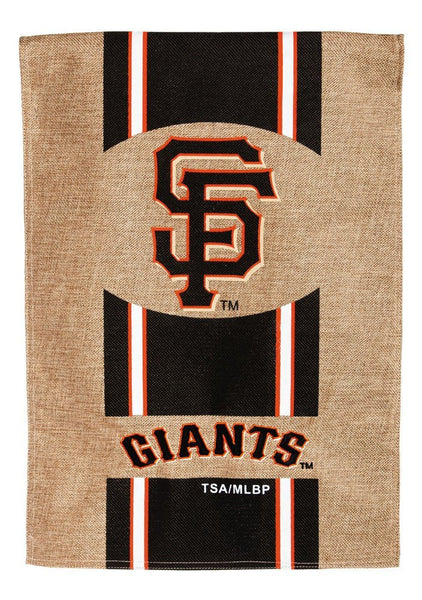 MLB San Francisco Giants Burlap Flag