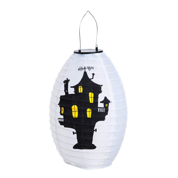 Evergreen Garden - Solar Haunted House Lantern