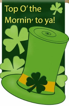 Top o'the Mornin Shamrock House Flag