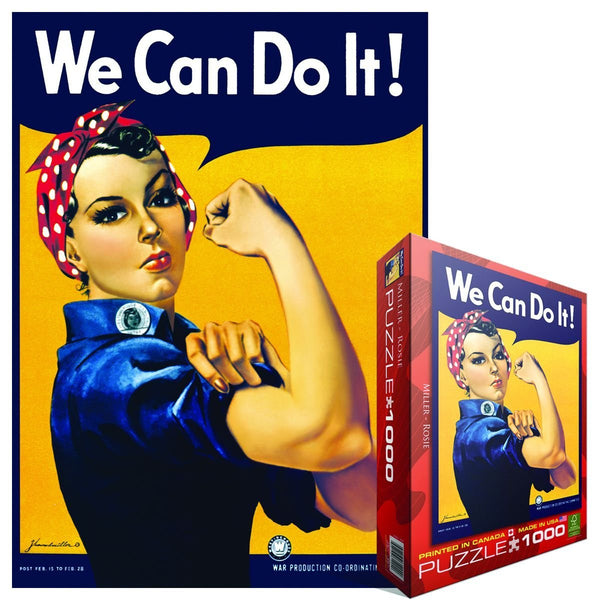 EuroGraphics Rosie The Riveter Puzzle