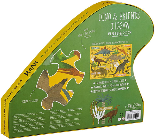 """Dino & Friends"" 40 Extra Large Pieces Puzzle"