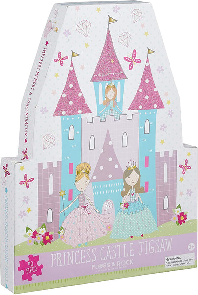 """Princess Castle"" 40 Extra Large Pieces Puzzle"