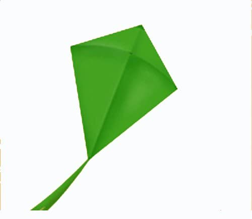 Fun Fly Traditional Solid Color Diamond Kite with Line Included