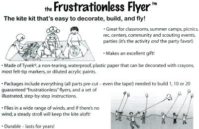 Frustrationless Flyer Kite Kit
