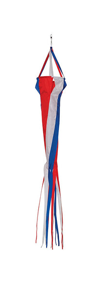 48 Inch Red, White & Blue Spinsock