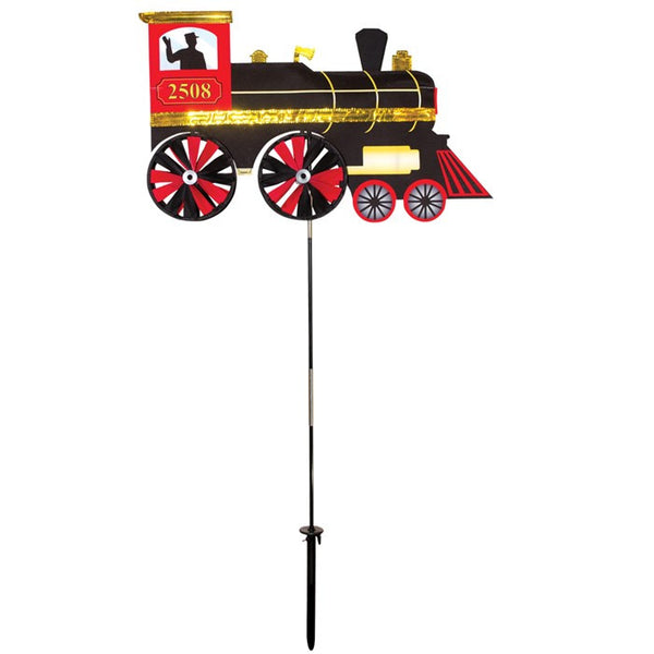 24 Inch Steam Engine Garden Spinner