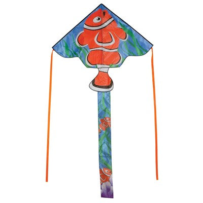 """Clownfish"" Fly-Hi Delta Kite with Line Included"