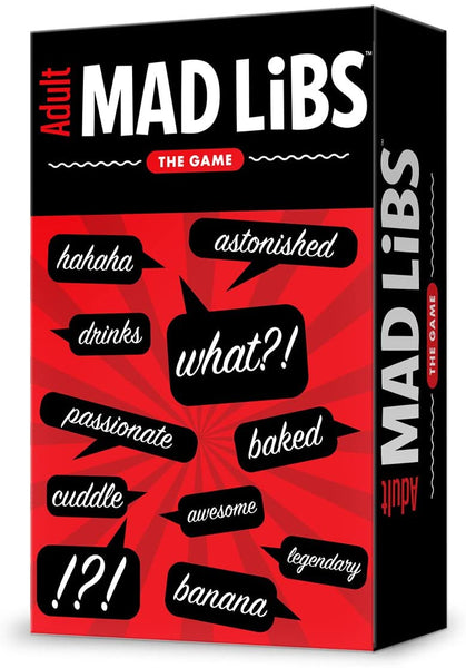 "Adult ""Mad Libs"" The Game"