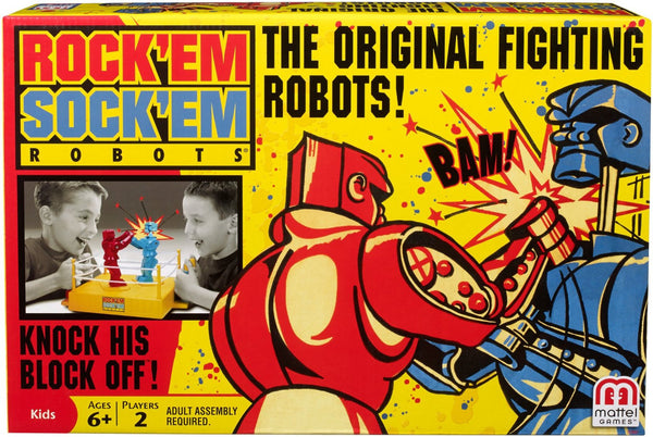 Rock'em Sock'em Robots Game