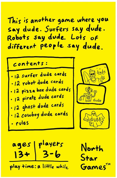 """More DUDE"" Card Game"