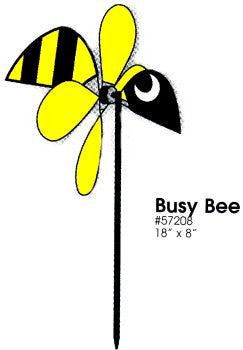 Busy Bee Wind Dazzler Garden Spinner
