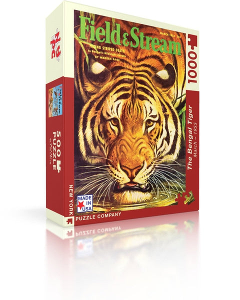 The Bengal Tiger - Field & Stream - 1000 Piece Puzzle