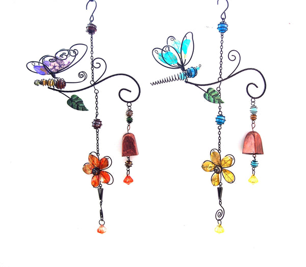 Oak Street Butterfly or Dragonfly Mobile Windchime