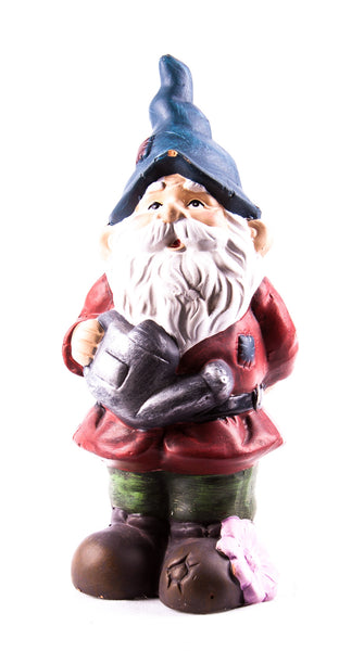 Oak Street Gnome Figure with Watering Can