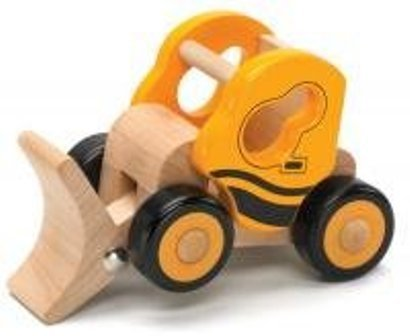 Little Rigs Excavator Wooden Play Vehicle