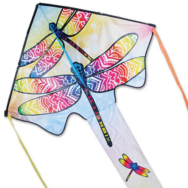 """Zephyr"" Dragonflies Delta Kite with Line & Winder"