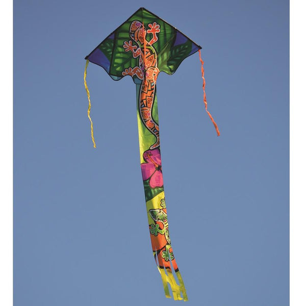 """Zephyr"" Gecko Delta Kite with Line & Handle"