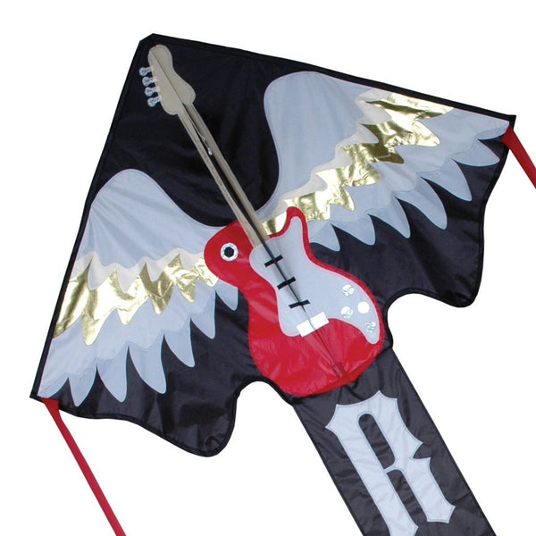 Large Easy Flyer Kite with Line Included - Rockstar