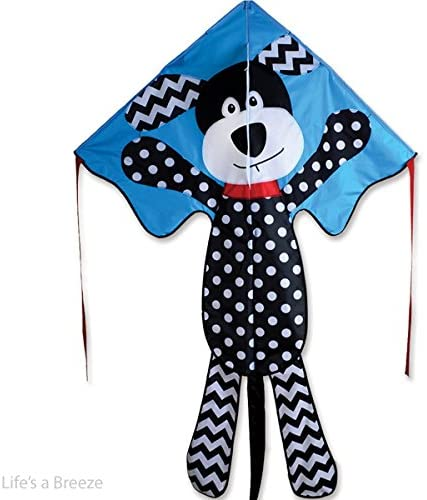 """Pattern Puppy"" Large Easy Flyer Kite with Line Included"