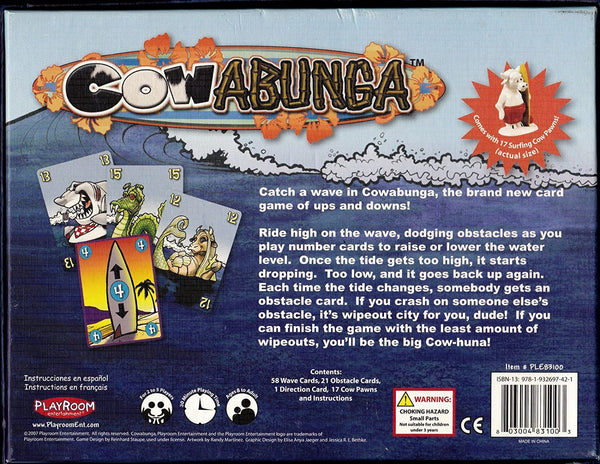 """Cowabunga"" Card Game"