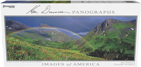 Images of America Panoramic Puzzle - Promise of Peace