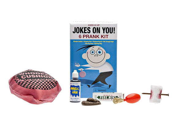 Reeve + Jones - Jokes on You - 6 Prank Kit