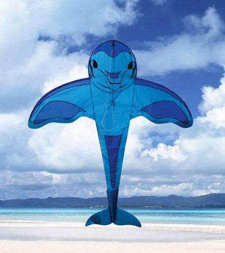 4 Foot Dolphin Kite with Line Included