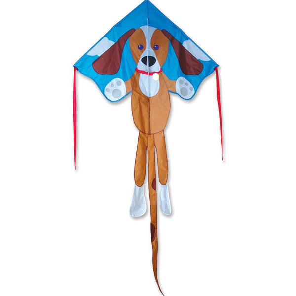 Large Easy Flyer - Sparky Dog - with Line Included