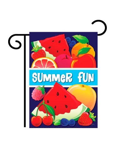 """Summer Fun"" Garden Flag"
