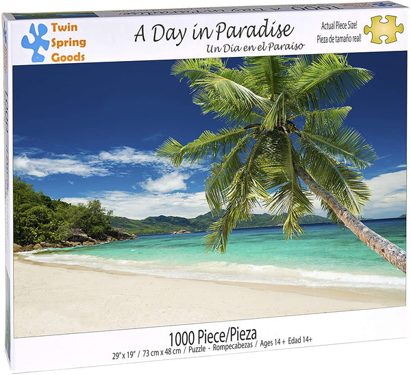 """A Day in Paradise"" 1000 Piece Puzzle"