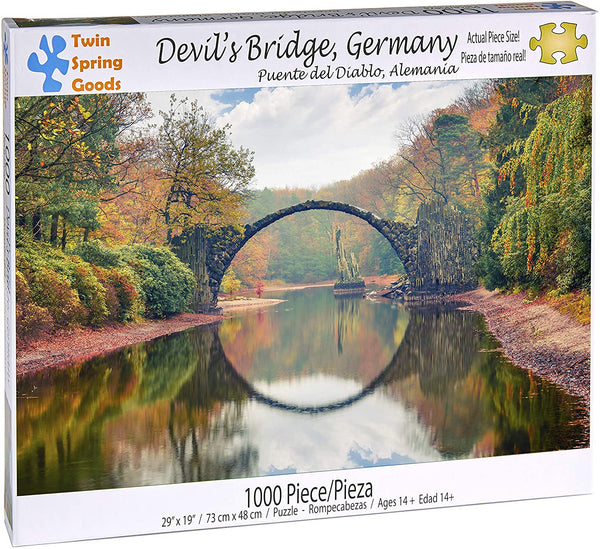 """Devil's Bridge, Germany"" 1000 Piece Puzzle"