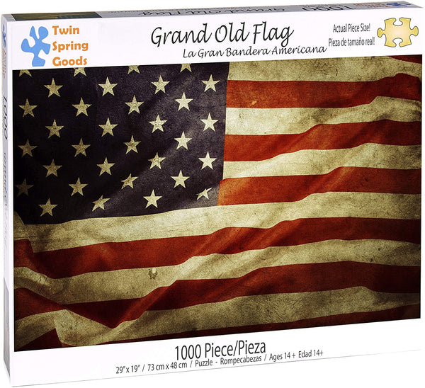 """Grand Old Flag"" 1000 Piece Puzzle"